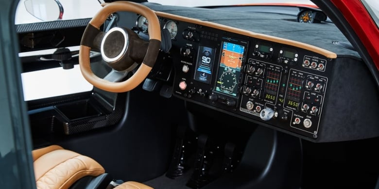 Flying Pal-V Liberty Car Interior