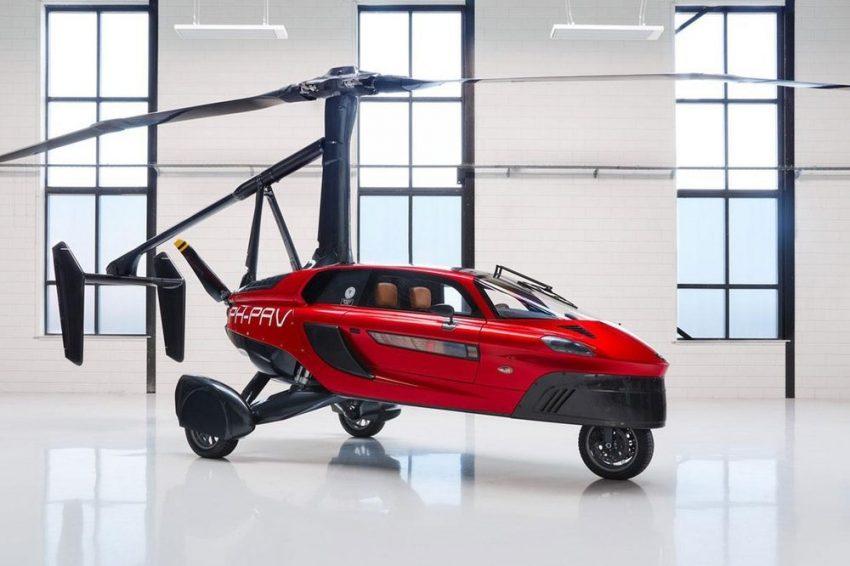 Flying Pal-V Liberty Car