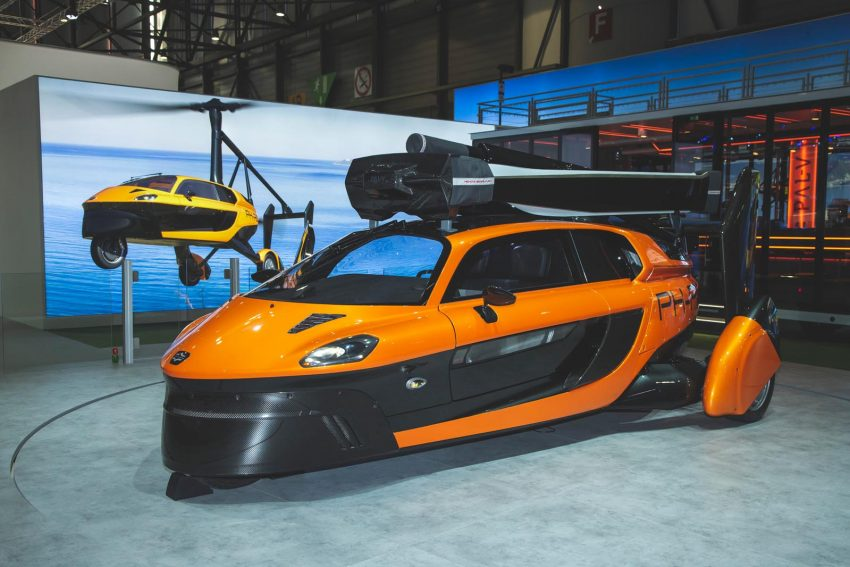 Flying car Pal-V Liberty