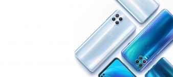 Motorola Edge S header white