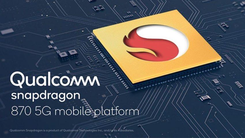qualcom chip snapdragon 870 5g 2021