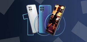 Motorola G100, phones