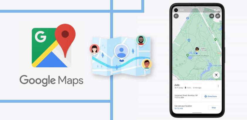 Share location live on Google Maps