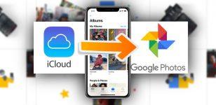 Apple's iCloud Photos to Google Photos feature
