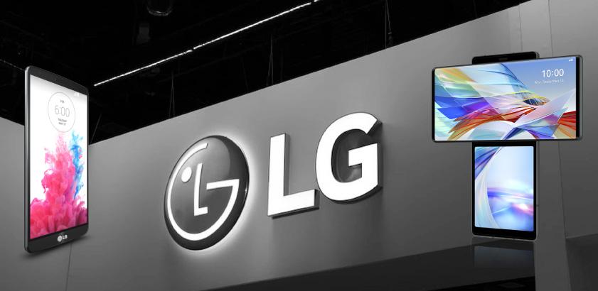 lg logo, lg mobile, end