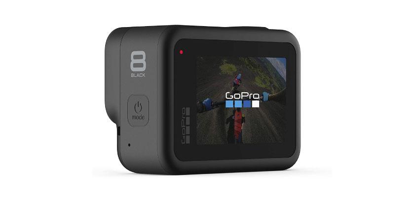 GoPro Hero8 Black from back