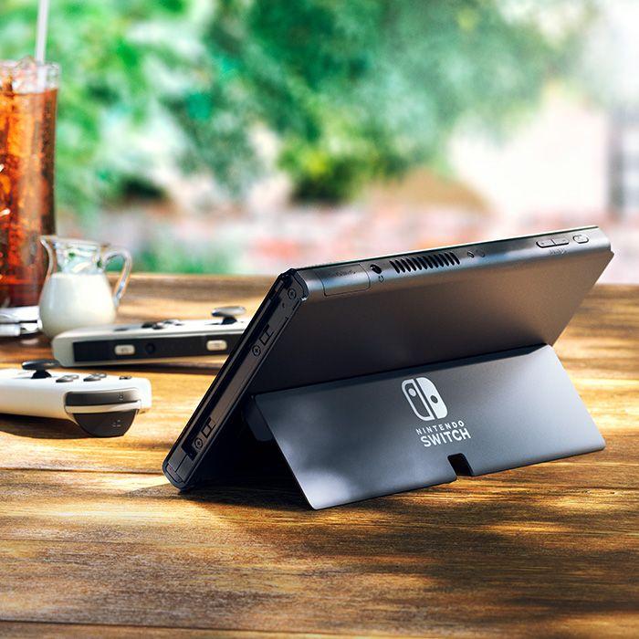 Nintendo Switch OLED back stand