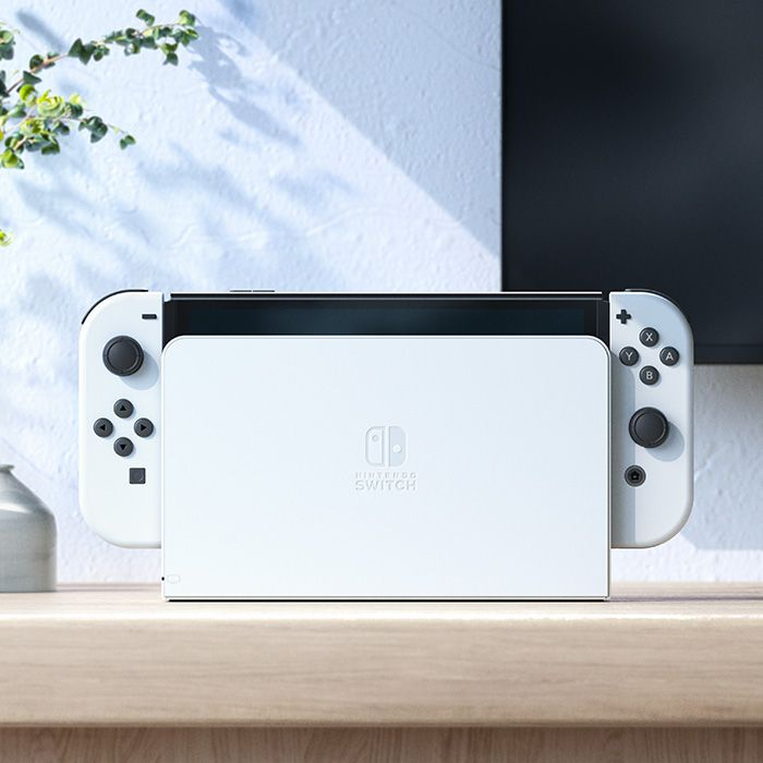 Nintendo Switch OLED with dock | TechBuyGuide