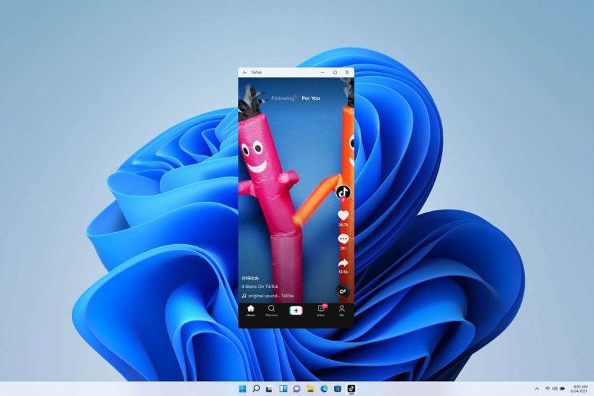 Windows 11 android app tiktok   TechBuyGuide