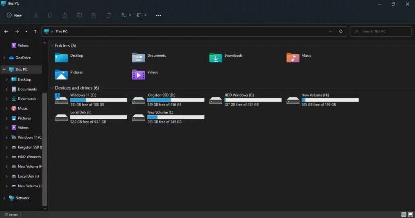 Windows 11 black background   TechBuyGuide