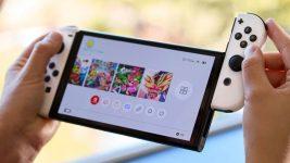 Nintendo switch OLED screen